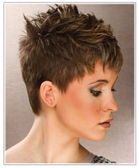 Very Short Spikey Hairstyles For Women Short Spiky