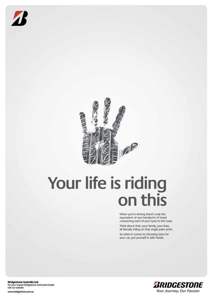 Showpony Advertising - Bridgestone Hands