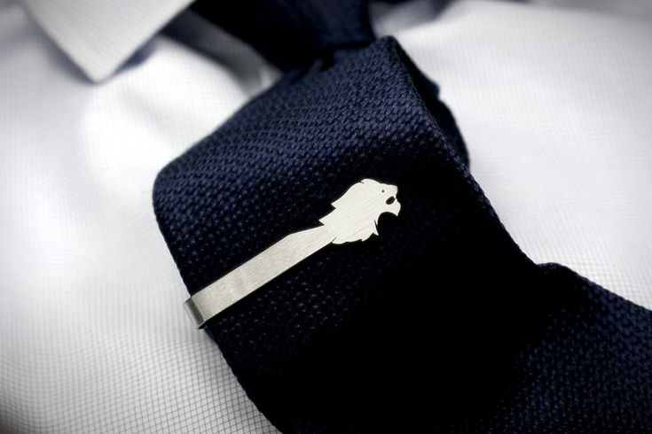 Lion Tie Clip - FEINFEIN | Jewelry is personal