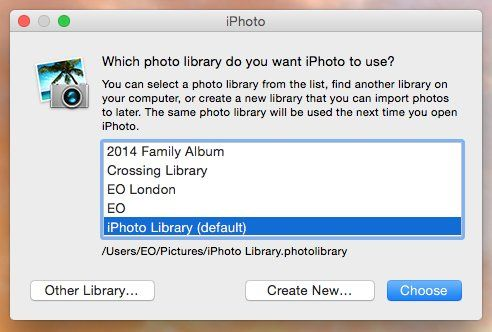 How to safely move your Mac's iPhoto library onto an external drive