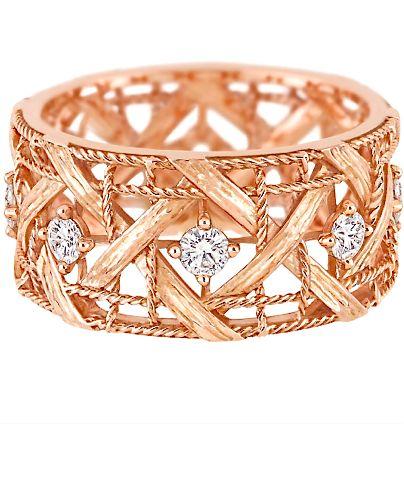 Dior Rose Gold & Diamonds