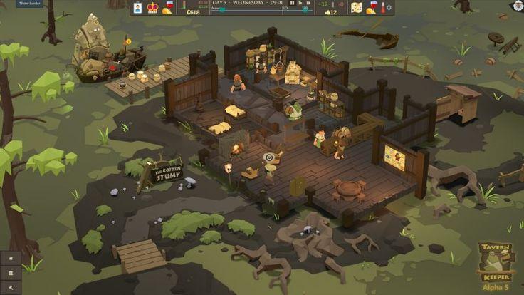 """発売前や登場したばかりのインディーゲームから、まだ誰も見たことがないような最前線の作品を紹介してゆく「Indie Pick」。第380回目は『Tavern Keeper』を紹介する。「Tarven」とは、ファンタジー世界にも登場する酒場を意味する言葉だ。本作『Tarven Keeper』はその名のとおり、酒場を切り盛りして運営するシミュレーションゲームとなっている。 『Tavern Keeper』において、プレイヤーは酒場を運営するマスターだ。地元の農民や遠方からやって来た冒険者、はてはオークの貴族などをもてなし、最高の酒場を運営することを目指す。ゲームは需要と共有のバランスを考慮しなければならないリソース(食料・資源)管理を軸に、料理や水くみ、従業員の管理から見世物の充実、建築や掃除といった多種多様なシム要素が用意されている。酒場の拡張とワークフローの最適化に務めることが攻略の鍵となるようだ。 公開されているスクリーンショット。左上には粉類が入ってるらしき袋や、なにやら色々なものを積んだ小舟が確認できる """"Tavern""""ということで、宿泊施設も管理することができるようだ…"""