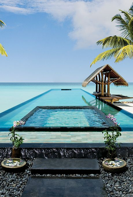 Brides.com: . One&Only Reethi Rah in North Male Atoll, Maldives. Each of the…