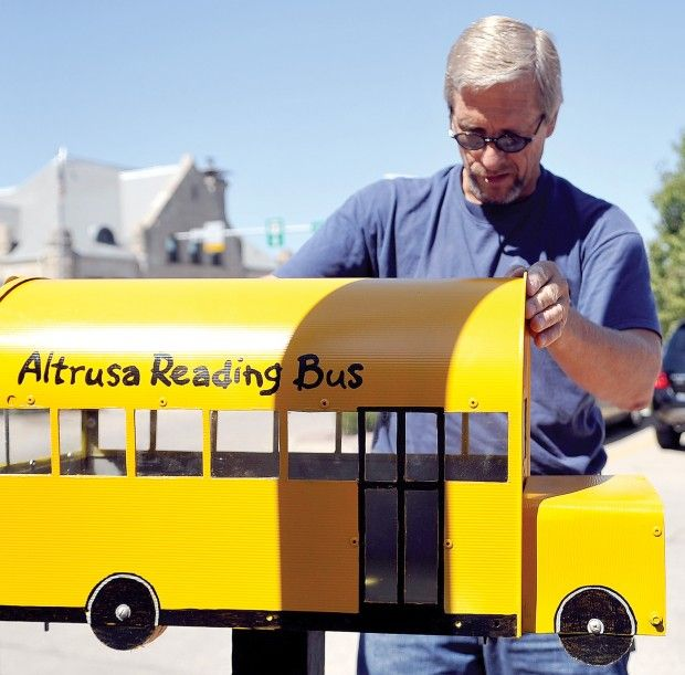 Little Free Library as Reading Bus