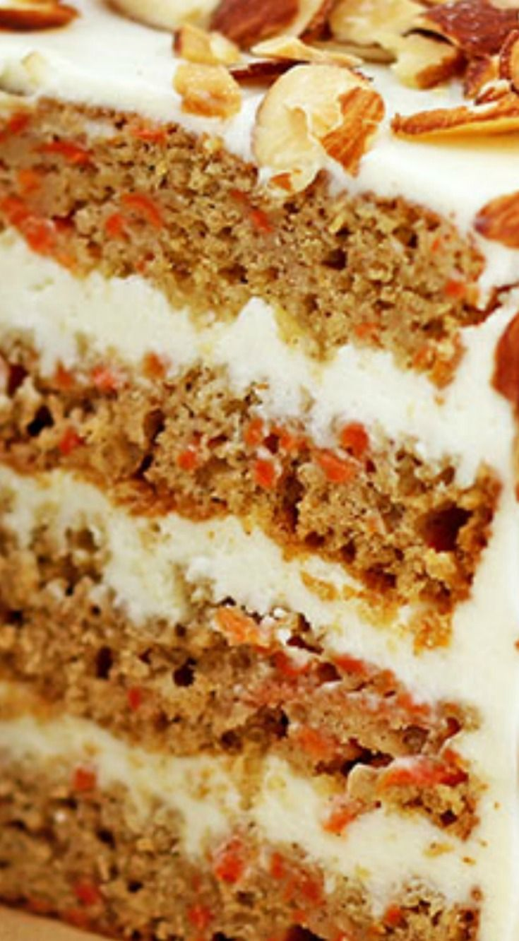 Healthier Homemade Carrot Cake ~  Irresistible!