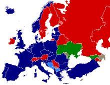 NATO-frei Staaten in Europa