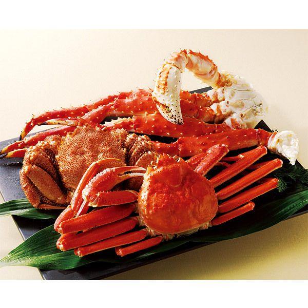 贅沢な食べ比べをどうぞ。【ロシア・北海道 かにづくし】