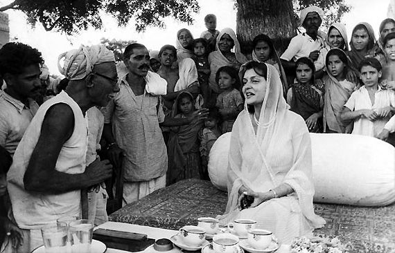 Being a Maharani didn't deter Gayatri Devi to push out through the traditionally limited activities of Princess's of those times.   She remained a philanthropist all her life and dedicated all her efforts to abolish 'purdah' system on women, aware women about their empowerment and education.