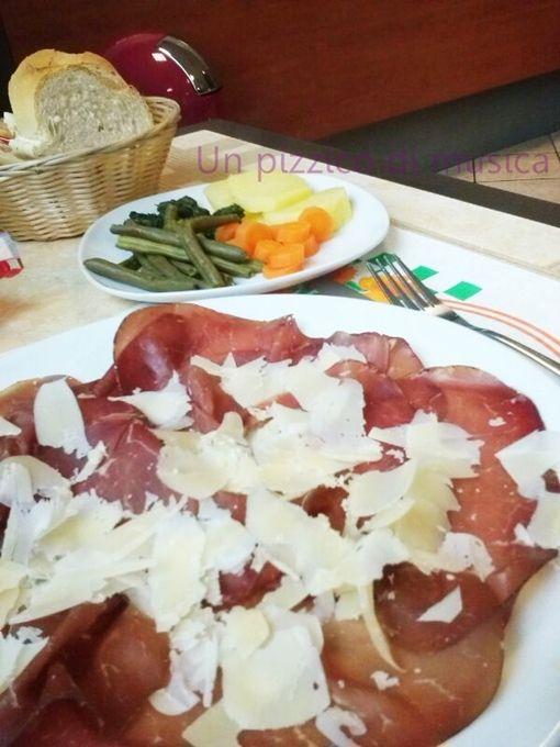 Bresaola e verdure al vapore, Ricetta del lunedì: ricetta light.