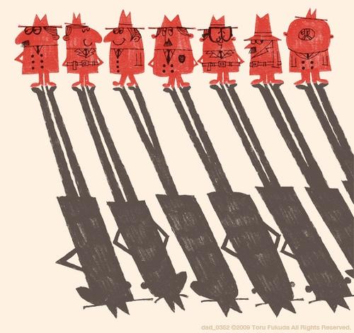 Toru Fukuda illustration...