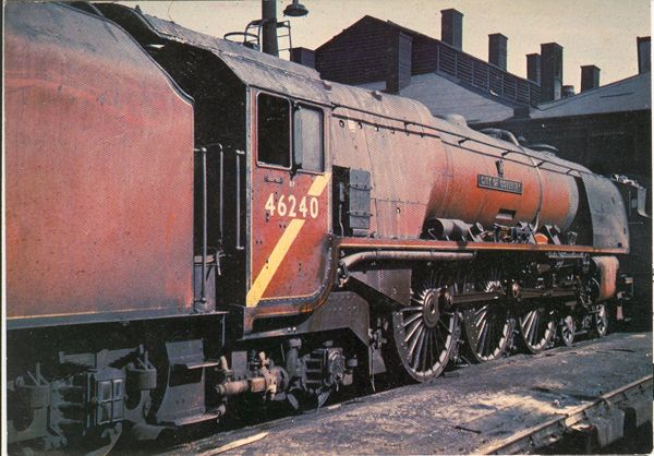 "46240 ""City of Coventry"" Coronation Class 4-6-2"