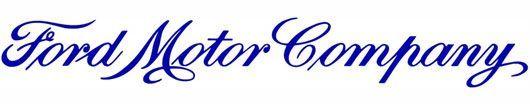 Ford Motor Company Logo Script.. Found on cartype.com