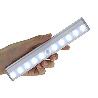 Full Automatic sensing light: the light will light up when you get within 3 meter (10 feet) and will go out 15 seconds after you walk out of its sensing range Rechargeable cabinet light: Built-in Lithium Battery inside, USB charging, can be charged by any +5v USB port, power adapter, power bank, computer USB port.One full charge of motion detecting light allows 600 times of sensing lighting Easy installed: an adhesive strip with magnetic fields is easily attached to and detachable from the…