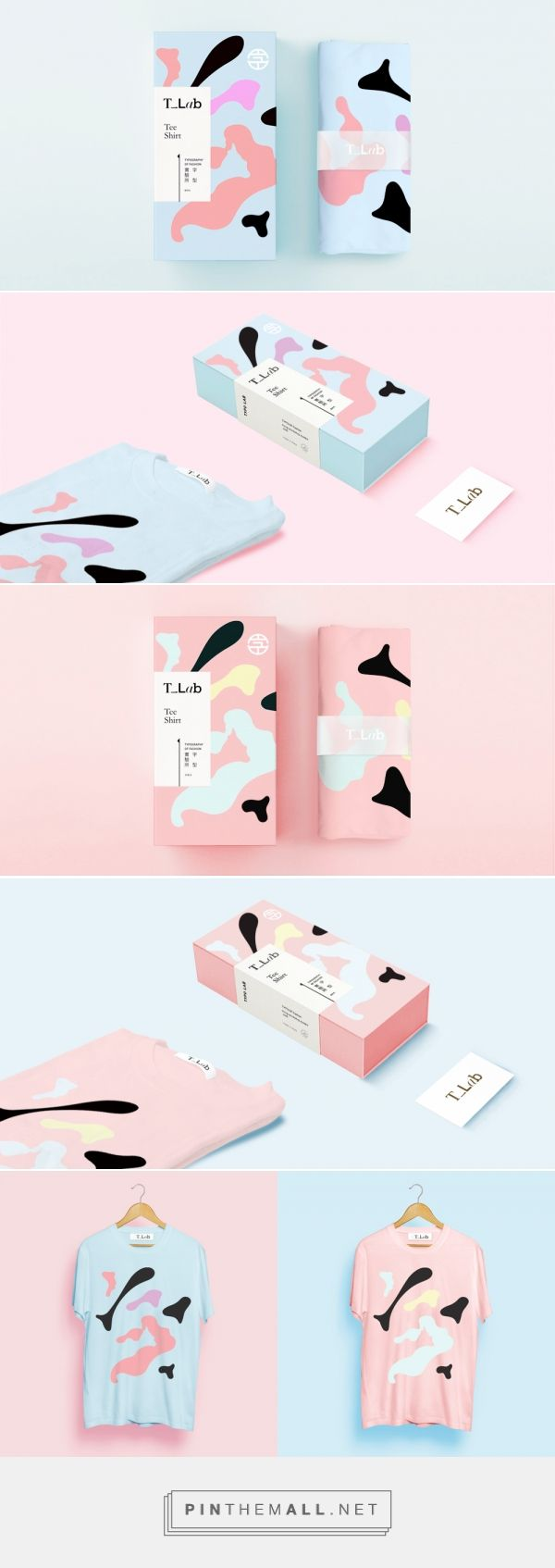 Kanji Of Fashion Tee -  Packaging of the World - Creative Package Design Gallery - http://www.packagingoftheworld.com/2016/07/kanji-of-fashion-tee.html