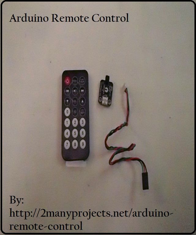 25 Best Ideas About Arduino Remote Control On Pinterest