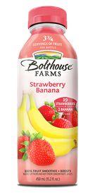 Strawberry Banana Apple, pear & apple juice