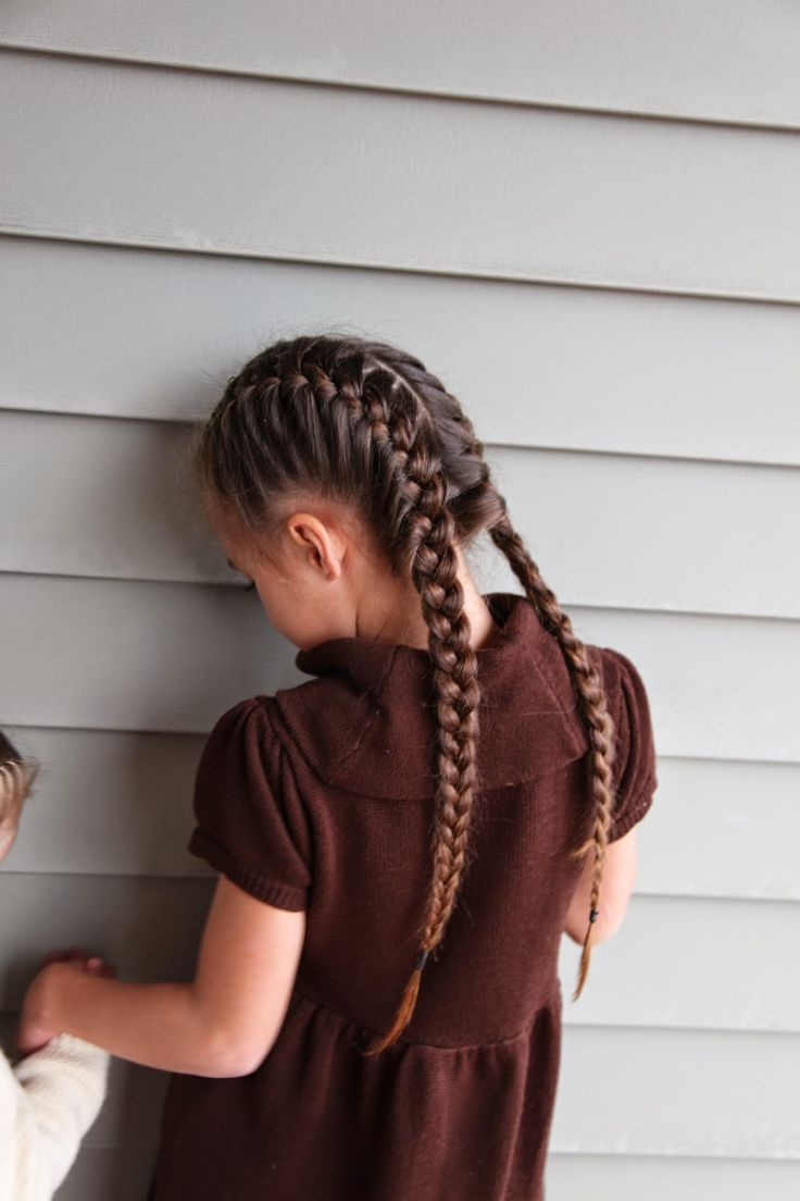 Abella's Braids Two Dutch Braidstwo Braidsfrench Braidshair  Plaitsquinceanerahappinesspigtailqueenschildren