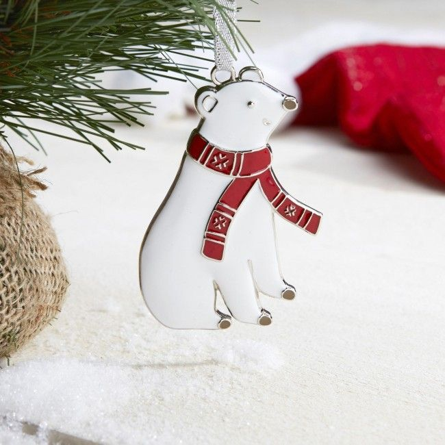 Bring this little polar bear in from the cold and decorate your Christmas tree this year!
