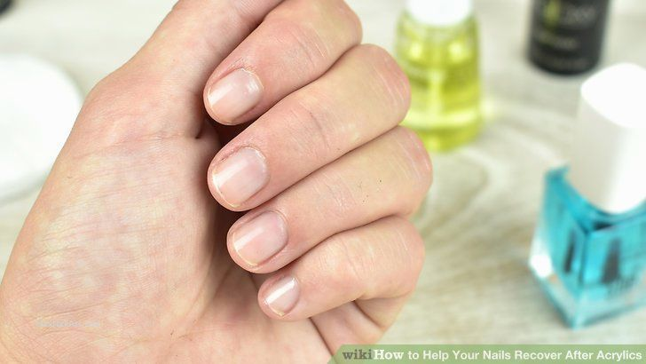 New Acrylic Nails For 8 Year Olds New Acrylic Nails For 8 Year Olds Aid V4 728px Help Your Nails Recover After Ac In 2020 Fake Nails Acrylic Nail Brush Nail Brushes