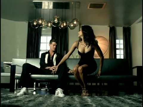 "Robin Thicke ""Lost Without You"": I'm smitten with him putting his wife Paula Patton in the video. One of ""Top 10 R & B videos"" (Pg 1 http://www.weebly.com/uploads/4/0/9/2/409296/r_and_b_video_pg_1.jpg Pg 2 http://www.weebly.com/uploads/4/0/9/2/409296/r_and_b_video_pg_2.jpg Pg 3 http://www.weebly.com/uploads/4/0/9/2/409296/r_and_b_video_pg_3.jpg ) I hope they work out their issues, too. http://www.examiner.com/article/robin-thicke-on-love-campaign-to-rekindle-relationship-with-paula-patton"