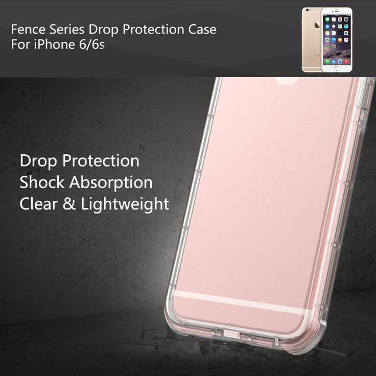 ROCK Fence Series Clear TPU Drop Protection 4.7 Inch Case With Detachable Neck S…