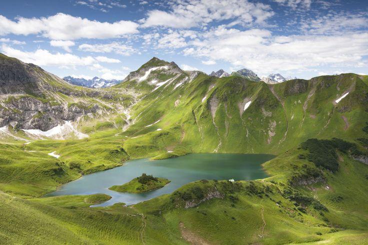 Schrecksee, Bayerische Alpen