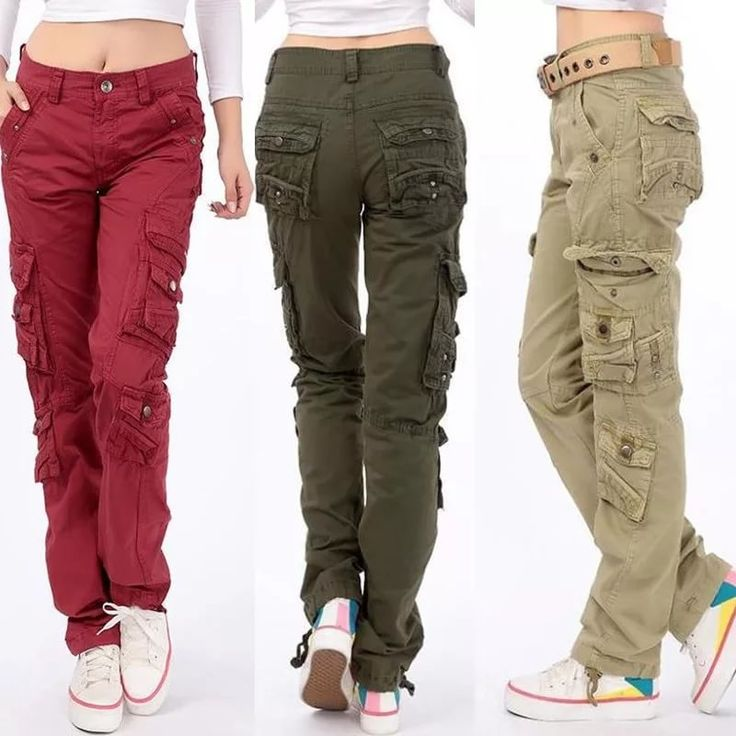 women's loose fit pants cotton