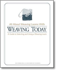 Free Weaving Loom eBook: All About Weaving Looms with Weaving Today