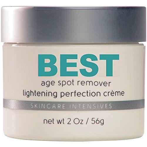 Best Age Spot Remover - Dark Spot Corrector, Skin Lightening - Strongest Non Prescription Treatment Available - 2 Oz Jar