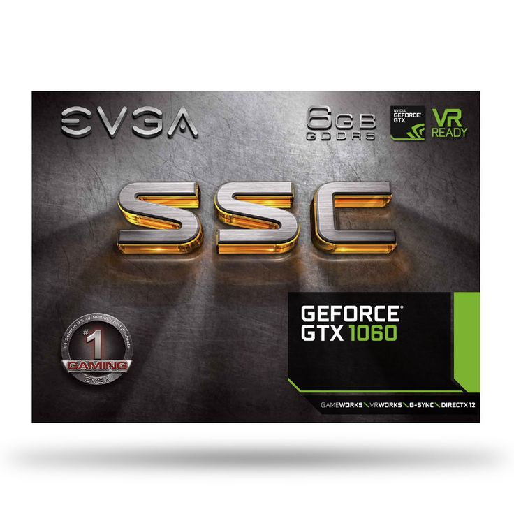EVGA - Products - EVGA GeForce GTX 1060 SSC GAMING ACX 3.0 - 06G-P4-6267-KR