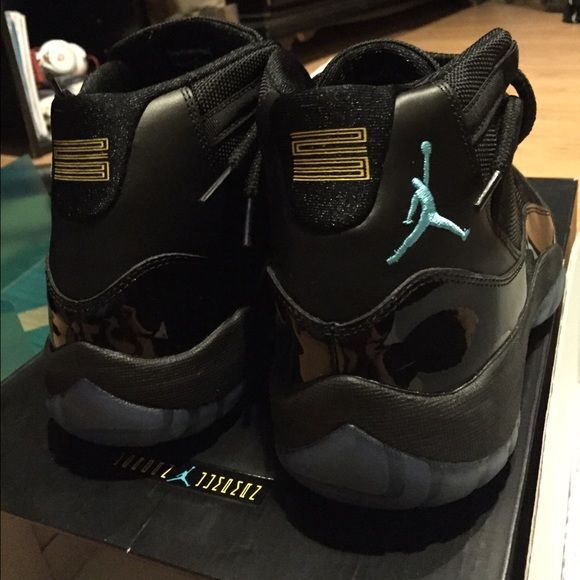 Jordan 11 Retro Gamma Blue Worn once, pass as DS. Comes with OG everything. 100% Authentic. Size 9.5 Jordan Shoes Sneakers