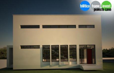 Proiect de casă cu arhitectură modernă 01