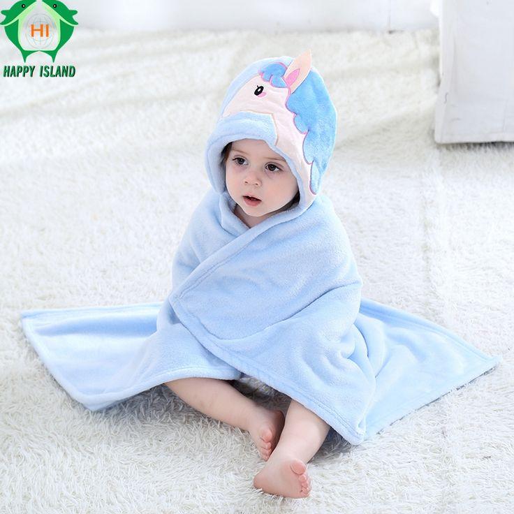 HAPPY ISLAND Newborn Baby Blankets Baby Cute Swaddle Bedding Clothes  Baby Girls Boys Kawaii Wrap Cobertor Infantil Swaddle Wrap #Affiliate