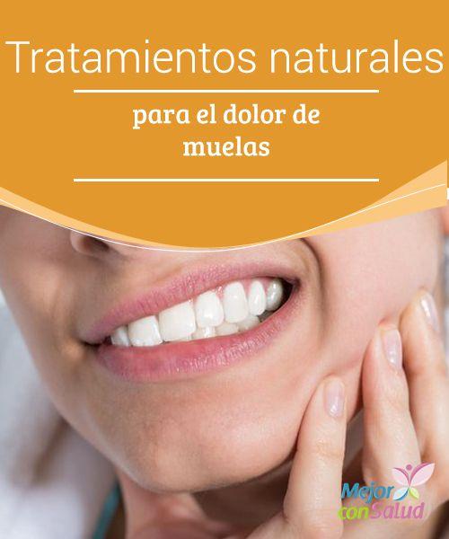Tratamientos naturales para el dolor de muelas   El dolor de muelas es uno de los peores que podemos sufrir. En este artículo te contamos sobre los mejores tratamientos naturales para reducirlo.