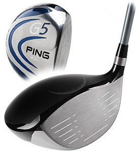 "Ping G5 12 degree driver    grafalloy graphite ""R"" shaft"