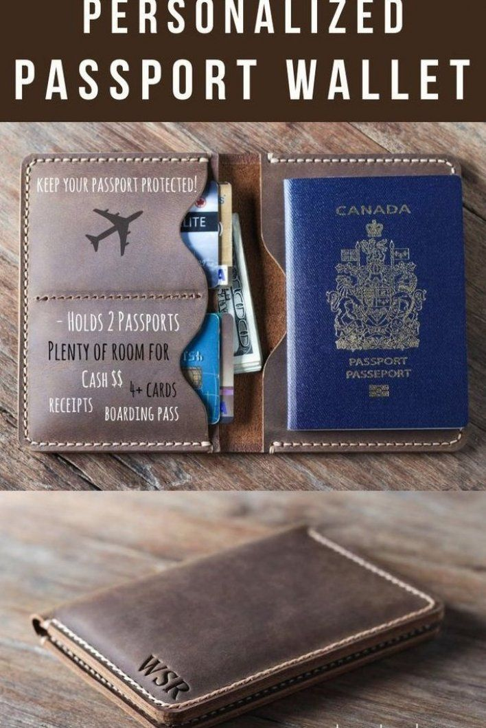 Traveling These Holidays Travel In Style With A Passport Wallet Handmade Full Grain Distresse In 2020 Diy Gifts For Him Thoughtful Gifts For Him Diy Gifts For Men