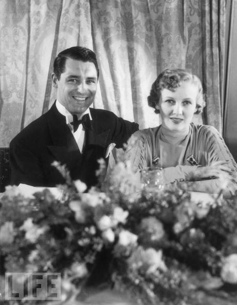 Cary Grant and Virginia Cherrill