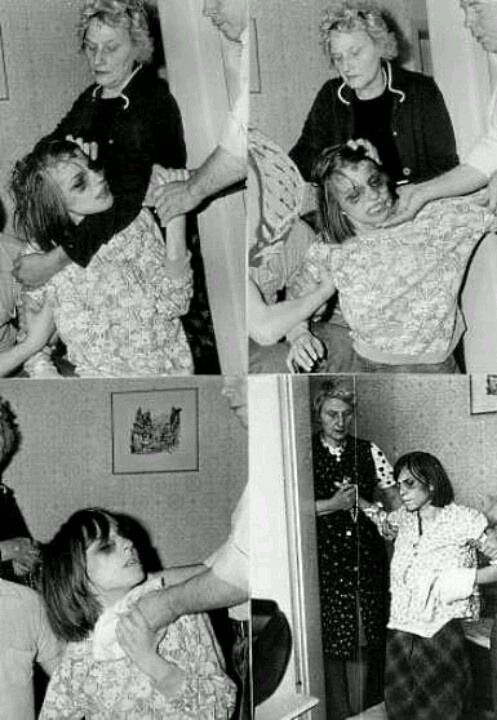 """dance-0f-the-damned: """"The Disturbing Exorcisms and Death of Anneliese Michel: Anneliese Michel was believed to have been possessed by demons from 1968 right up to her death in 1976, ages sixteen to..."""