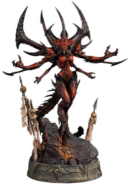 Estátua Diablo Prime Evil do Game Diablo III