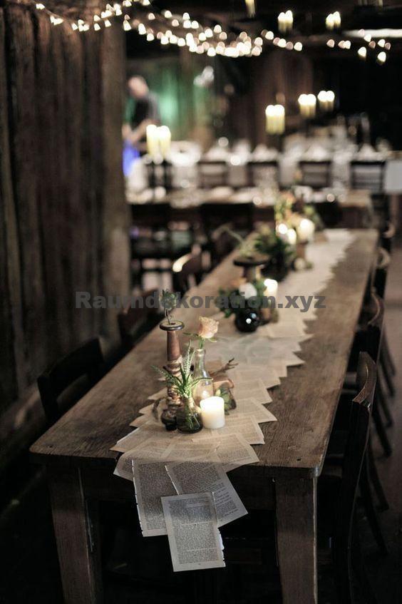Wedding Table Decor – 10 schicke Hochzeitsdekorationen aus Papier für Ihre Sicherheit   – Dekoration