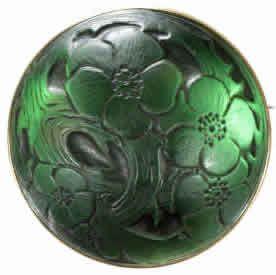 Lalique Brooch Cabochon Pommier du Japon
