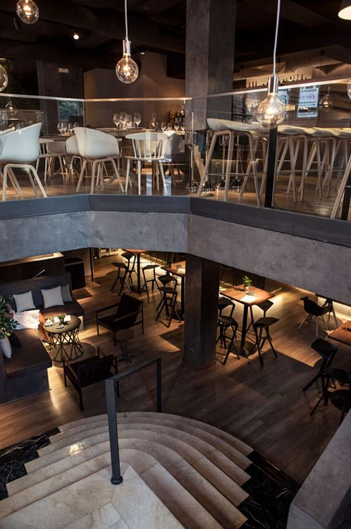 Restaurante Sexto, Madrid by David Zafra David is responsible for the interior design and I can honestly say it's one of the most be...