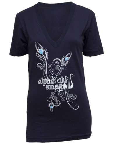I love when there's peacock feathers on AXO stuff!! It's an often-overlooked symbol of AXO, but one of my faves. <3 Woo, Hera!!