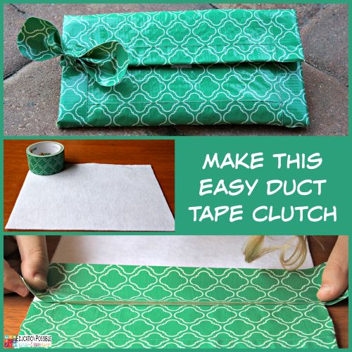DIY Duct Tape Gifts for Friends | Enchanted Homeschooling Mom | Enchanted Homeschooling Mom