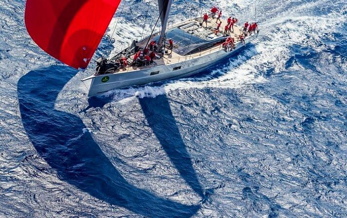 Last day of #racing today for the 28th Maxi Yacht Rolex Cup in Sardinia.  Who where you rooting for?  @carlo.borlenghi