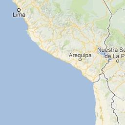 Lima | Ica | Cusco | Puno (Lake Titicaca) | Arequipa on Google Maps