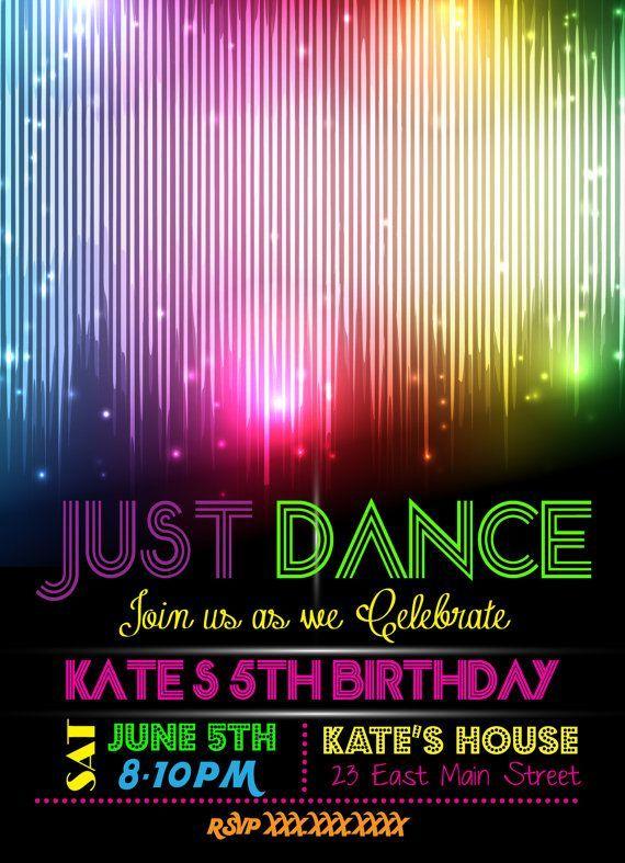 d59f68bf58856ab672b23b9acea11719 183 best dance party birthday ideas images on pinterest dance
