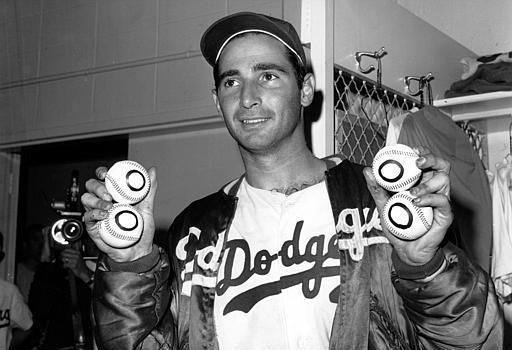 Sandy Koufax - saw him pitch my very first baseball game ever, at Wrigley Field