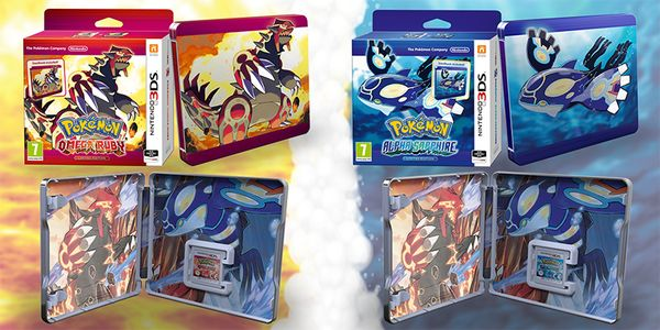 Glameow it up with Pokemon Alpha & Omega steelbooks in EU - http://videogamedemons.com/news/glameow-it-up-with-pokemon-alpha-omega-steelbooks-in-eu/