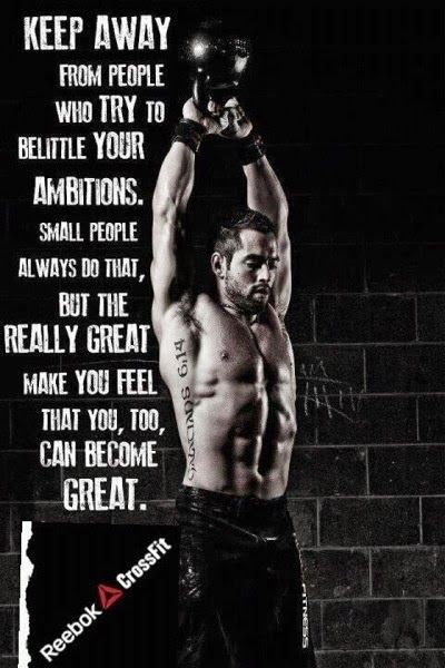 the really great people make you feel that you, too, can become great #inspired #strong #healthy